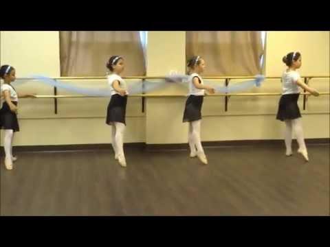 Ballet 1 & 2 End-of-year Open Class - Tendus + Jetes (part 2 )