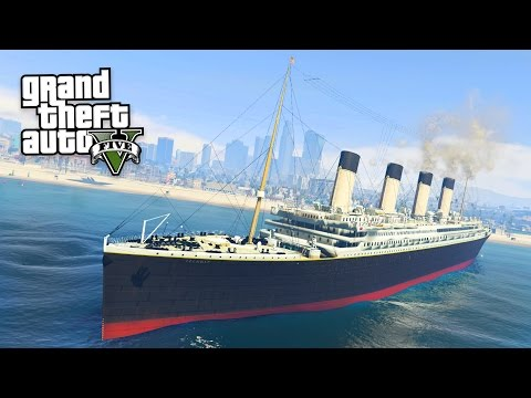 TITANIC!! (GTA 5 Mods)