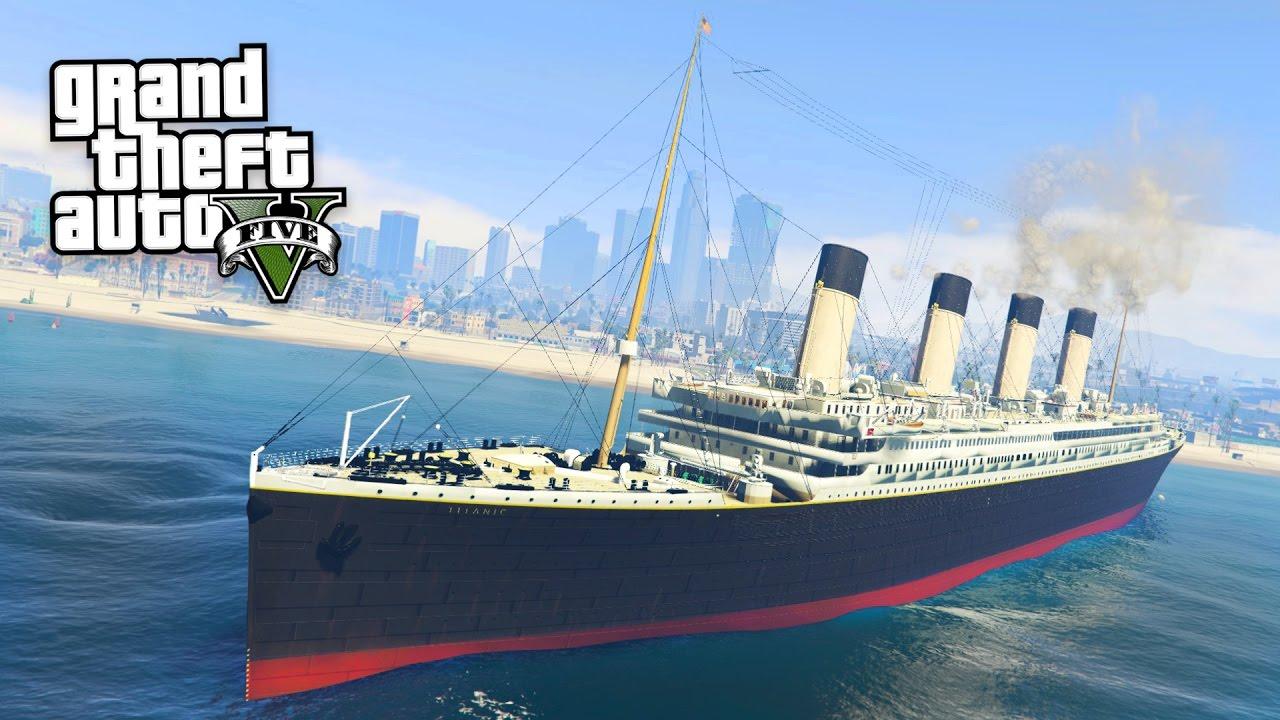 TITANIC!! (GTA 5 Mods)