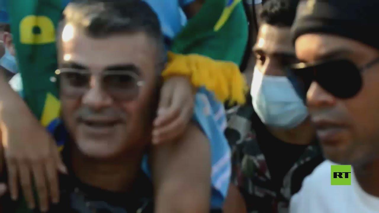 البرازيلي رونالدينيو يصل لبنان لإحياء ذكرى ضحايا انفجار مرفأ بيروت