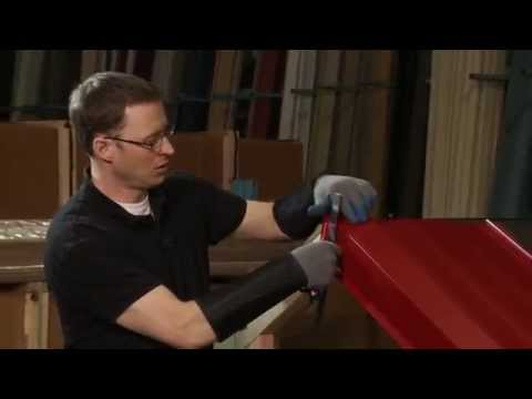 How to Install Rake/Gable Trim: ABC SL-16® Metal Roofing System