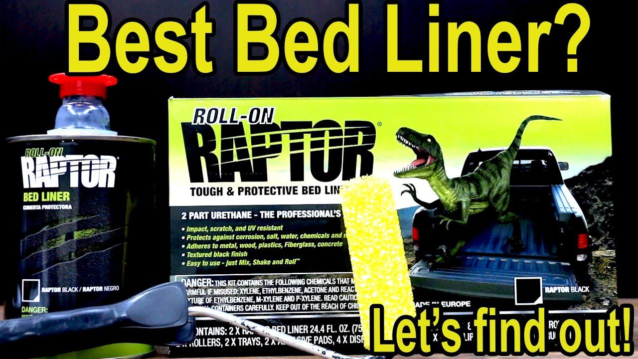 Best Bed Liner (Roll On)? Raptor, Herculiner, Durabak, POR-15, Dupli-Color, Iron Armor, Flex Seal