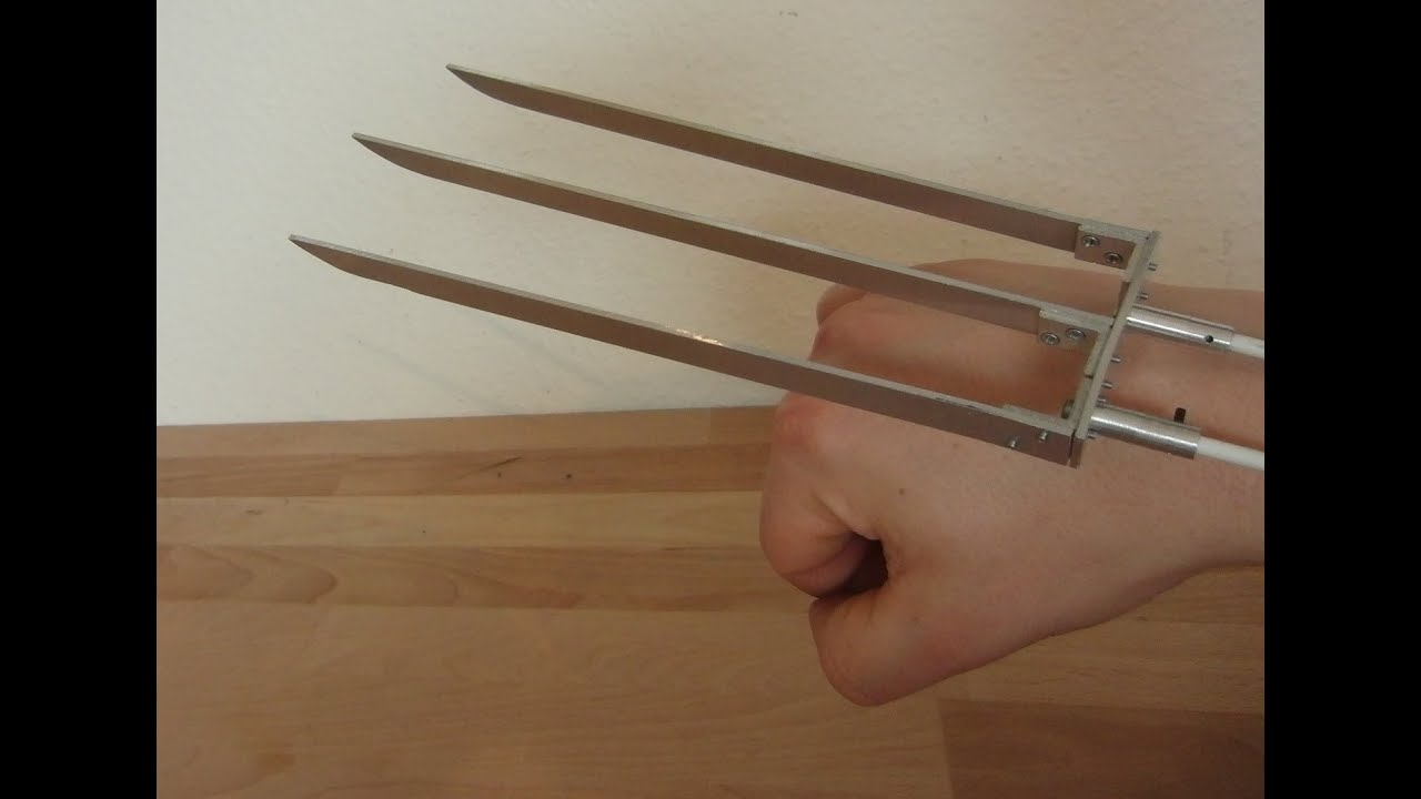 48 hours project diy wolverine claws electromagnetic youtube solutioingenieria Gallery