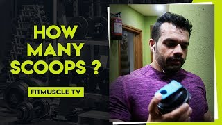 How much Whey protein should you drink in a Day | FitMuscle TV