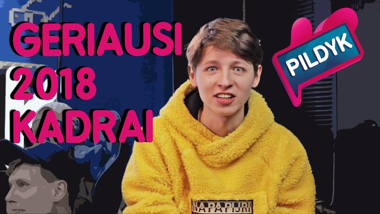 GERIAUSIOS 2018 METŲ AKIMIRKOS. ANTRA DALIS | Lauritta, sTimoMedia, Talžūnas, Vėjas | Pildyk ofisas