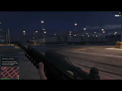 GTA Online - Sniper Training with Z3ro