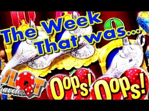 ** SLOT WINS ** SlotTraveler's WEEK THAT WAS... OOPS! - SlotTraveler - 동영상