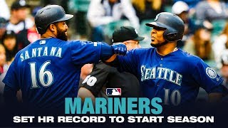 Mariners Hit Hrs In 20 Straight Games To Start 2019!  Mlb Record