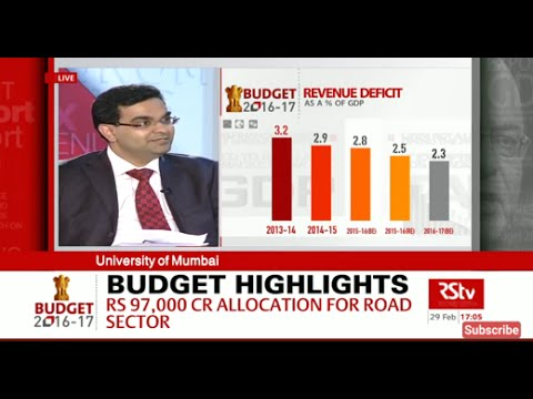 Union Budget 2016-17 | Make in India - Infrastructure, Jobs & Industry