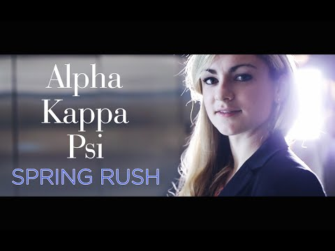 Fifty Shades of Business (AKPsi UChicago Spring Rush 2015) [4K]
