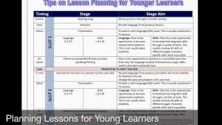 Methodology Pill No. 19 - Planning Lessons for Young Learners
