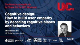 "UXC19 - Manuel Lima ""Cognitive Design"""