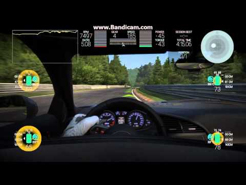 Pokus Audi R8 V10 Logitech G920