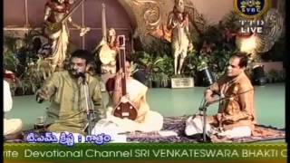 T M Krishna 06 SindhuBhairavi Tirupati venkataramana DasarNama