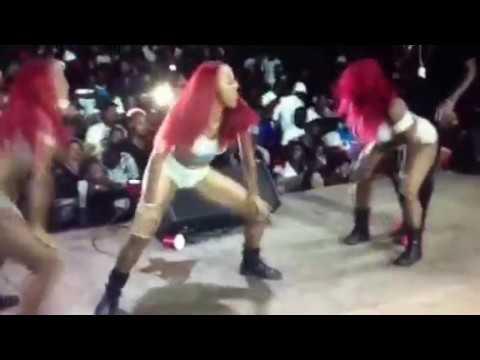 Charly Black & Spice Dancing Bike Back in Guyana #Masharama 2017
