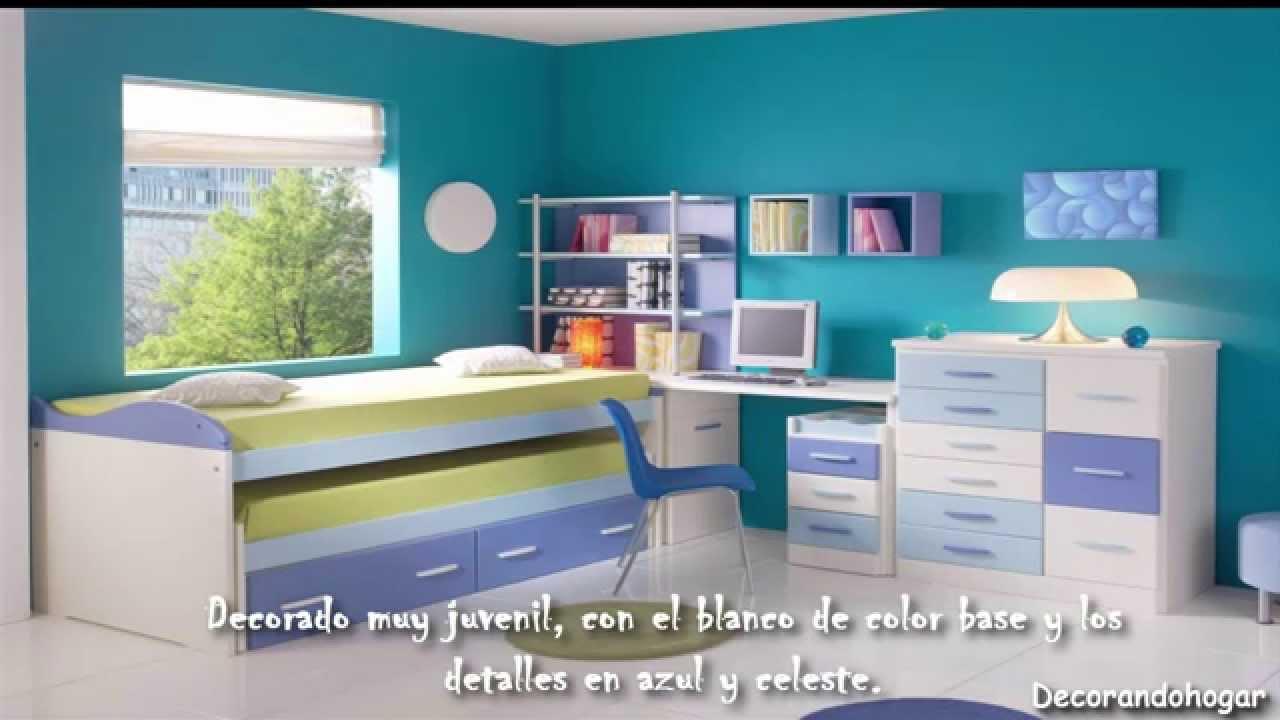 Decorando dormitorio del bebe en blanco y azul celeste - Colores azules para habitaciones ...