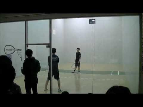 第22回 関東学生ラケットボール大会 男子決勝