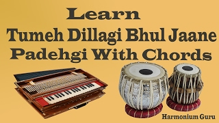 Learn Tumeh Dillagi Bhul Jaane Padehgi With Chords On Harmonium