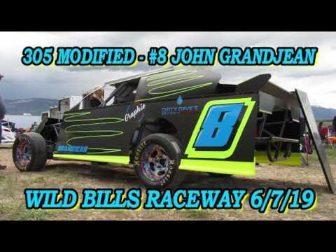 In Car - 305 Modified - #8 John Grandjean - Wild Bill's Raceway 6/8/19
