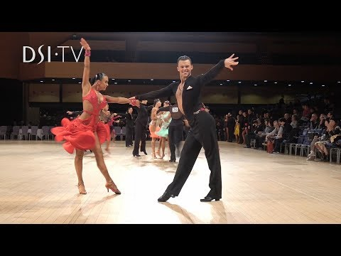 UK Open 2019 Professional Rising Star Latin Highlight DSI TV