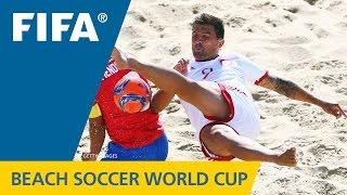 HIGHLIGHTS: Costa Rica v. Switzerland - FIFA Beach Soccer World Cup 2015