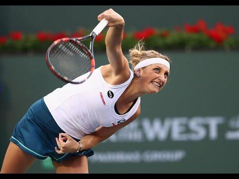 2016 BNP Paribas Open Third Round | Timea Bacsinszky vs Genie Bouchard | WTA Highlights