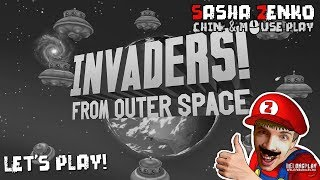 Invaders! From Outer Space Gameplay (Chin & Mouse Only)