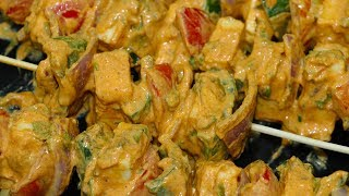 How to make paneer tikka on tawa|restaurant paneer tikka recipe|paneer Tikka Masala பனீர் டிக்கா