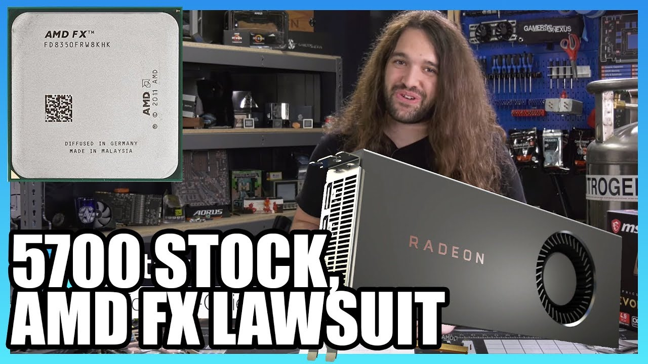 HW News - Where's RX 5700 Stock & AMD False Advertising Lawsuit