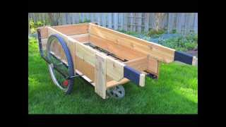 Garden Cart Wheels I Garden Cart With Wheels And Seat