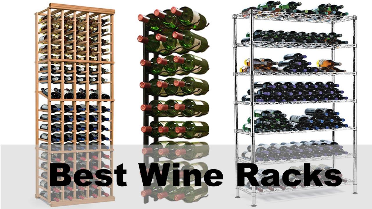 Wine Racks For Sale - Small & Large Home Wine Racks - YouTube