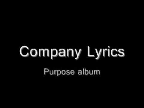 Company Justin Bieber Lyrics