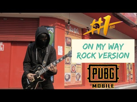 On My Way - Rock Cover - Alan Walker - By Jeje GuitarAddict #PUBGMONMYWAYCOVER
