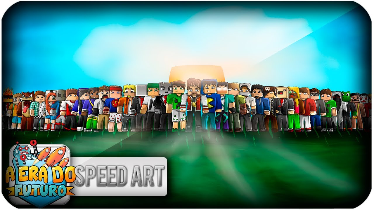 ERA DO FUTURO - Wallpaper Speed Art - YouTube: www.youtube.com/watch?v=e8SweA9hM40