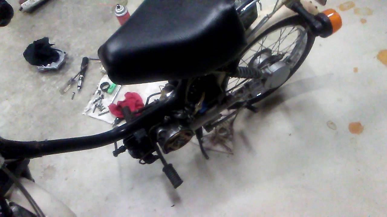 QT50 Kick Starter Repair