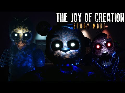 WE MADE IT TO THE OFFICE! | The Joy of Creation: Story Mode | OFFICE, LIVING-ROOM & BEDROOM Gameplay