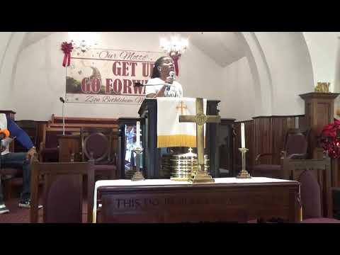 "Dr. Telika McCoy Preaching, The Great Gift Giver (John 3:16)"" 12/22/19"