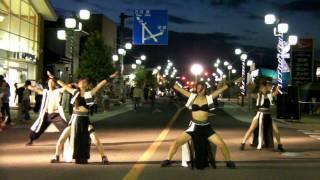 茨城YOSAKOI小柳組「岩井夏祭り2011~本町アイモール」 ―神剛―