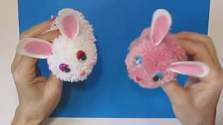 Супер-быстро мягкие игрушки антистресс своими руками Подарки. Поделки-игрушки из ниток пряжи кролик