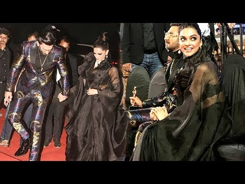 Deepika Padukone Ranveer Singh BEST MOMENTS From Star Screen Awards 2018
