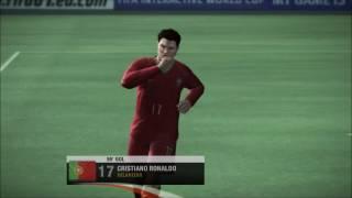 França x Portugal  FIFA 07 XBOX 360
