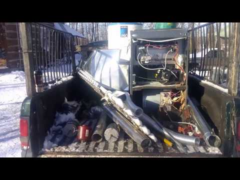 Scrap metal pickup from HVAC company, copper, motors, furnace