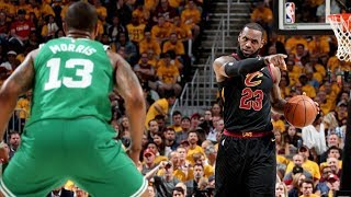 LeBron Blocks Baynes, Reverse Dunk Game 3! 2018 NBA Playoffs