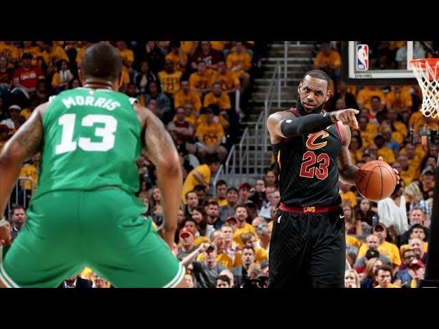 LeBron Blocks Baynes, Reverse Dunk Game 3! 2018 NBA Playoffs