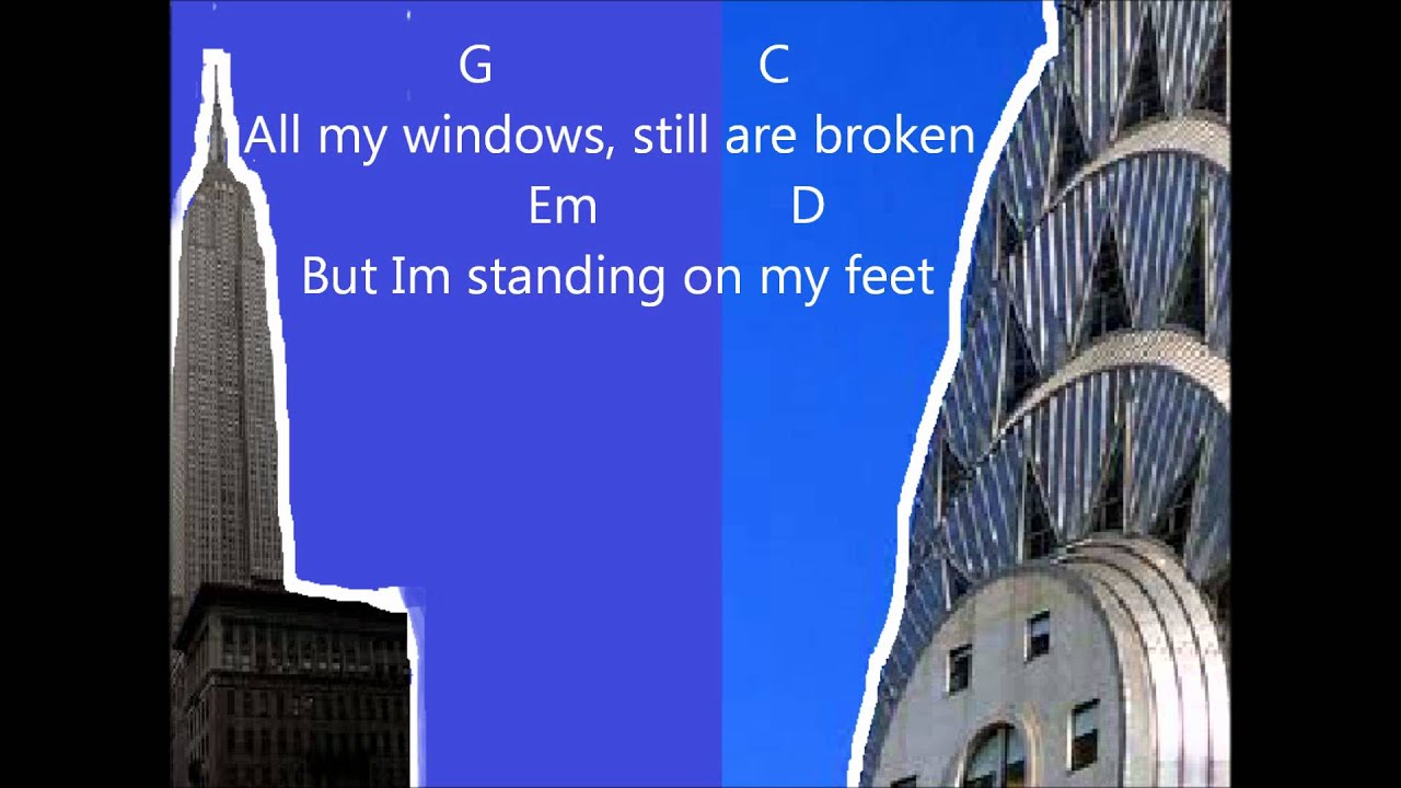 Demi Lovato Skyscraper With Guitar Chords Youtube