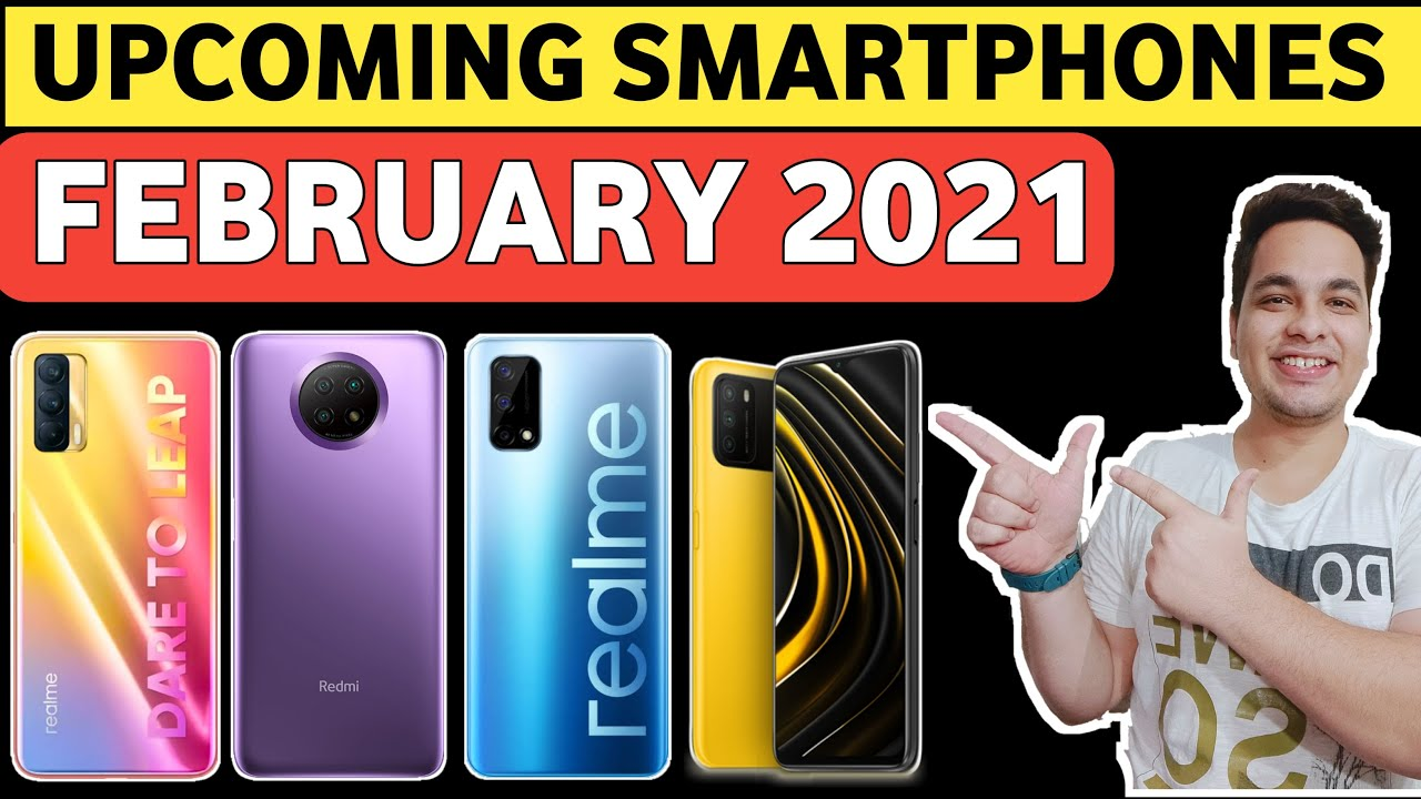 Top 10+ Upcoming Mobile Phones in February 2021? 5G Phones Under 15000 ??