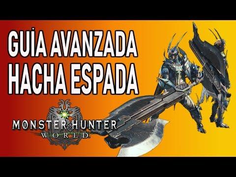 GUÍA AVANZADA: HACHA ESPADA - Monster Hunter World (Gameplay Español) thumbnail
