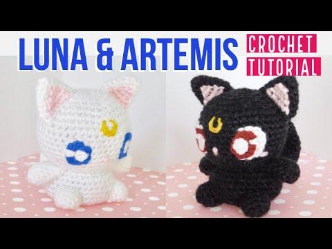 Crochet Amigurumi Kawaii Three Inch Crescent Moon Ball Chain Bag Charm |  Crochet dolls free patterns, Crochet patterns, Crochet patterns amigurumi | 360x480