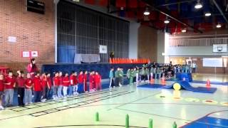 Mini Olimpiada Colegio Madrid 2012