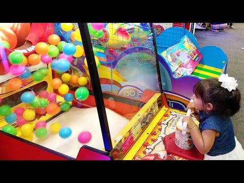 Kids Arcade Games Plastic Balls Game Chucky Cheese